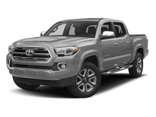 Silver Sky Metallic 2017 Toyota Tacoma Pictures Tacoma Limited Crew Cab 4WD V6 photos front view
