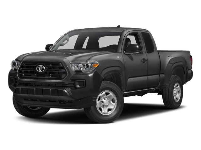Magnetic Gray Metallic 2017 Toyota Tacoma Pictures Tacoma SR Extended Cab 2WD V6 photos front view