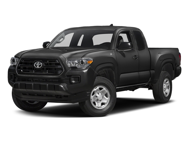 Black 2017 Toyota Tacoma Pictures Tacoma SR Extended Cab 2WD V6 photos front view