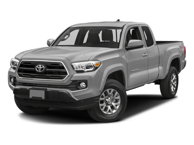 Silver Sky Metallic 2017 Toyota Tacoma Pictures Tacoma SR5 Extended Cab 2WD V6 photos front view