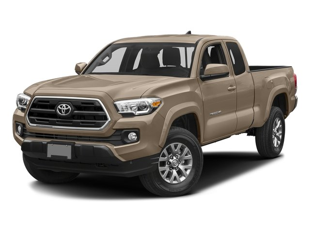 Quicksand 2017 Toyota Tacoma Pictures Tacoma SR5 Extended Cab 2WD V6 photos front view