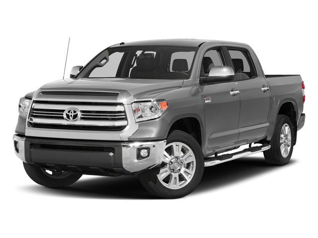 Silver Sky Metallic 2017 Toyota Tundra 2WD Pictures Tundra 2WD 1794 Edition CrewMax 2WD photos front view