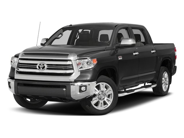Magnetic Gray Metallic 2017 Toyota Tundra 2WD Pictures Tundra 2WD 1794 Edition CrewMax 2WD photos front view