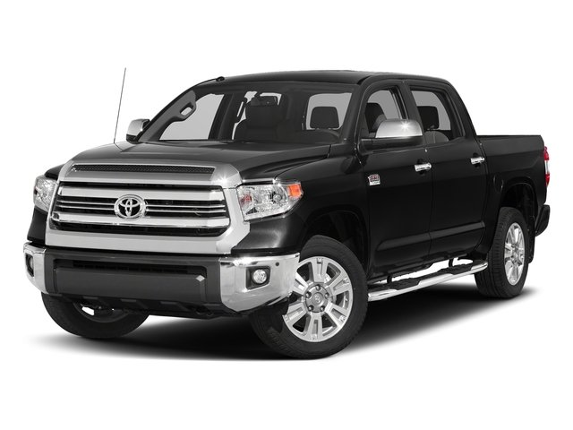 Midnight Black Metallic 2017 Toyota Tundra 2WD Pictures Tundra 2WD 1794 Edition CrewMax 2WD photos front view