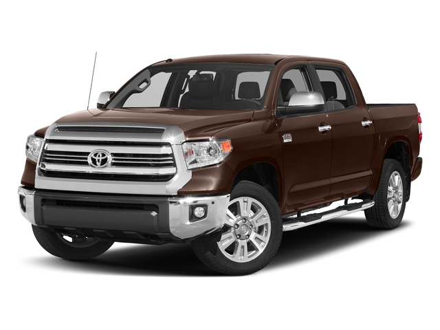 Sunset Bronze Mica 2017 Toyota Tundra 2WD Pictures Tundra 2WD 1794 Edition CrewMax 2WD photos front view