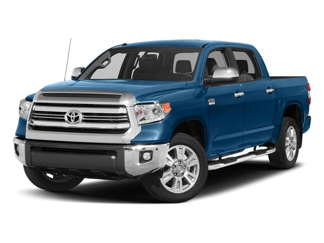 Blazing Blue Pearl 2017 Toyota Tundra 2WD Pictures Tundra 2WD 1794 Edition CrewMax 2WD photos front view