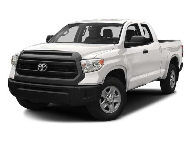 Super White 2017 Toyota Tundra 2WD Pictures Tundra 2WD SR Double Cab 2WD photos front view