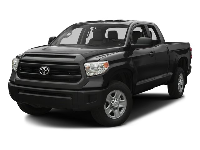 Black 2017 Toyota Tundra 2WD Pictures Tundra 2WD SR Double Cab 2WD photos front view