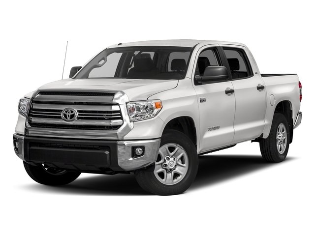 Super White 2017 Toyota Tundra 4WD Pictures Tundra 4WD SR5 CrewMax 4WD photos front view