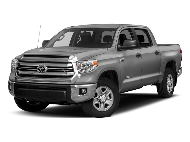 Silver Sky Metallic 2017 Toyota Tundra 4WD Pictures Tundra 4WD SR5 CrewMax 4WD photos front view