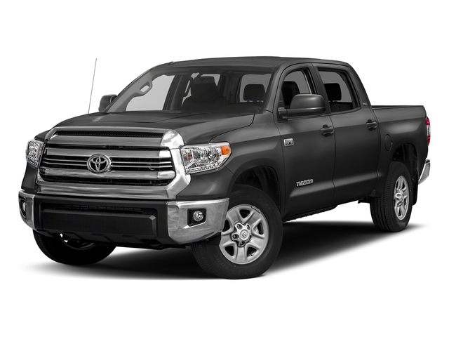 Magnetic Gray Metallic 2017 Toyota Tundra 4WD Pictures Tundra 4WD SR5 CrewMax 4WD photos front view