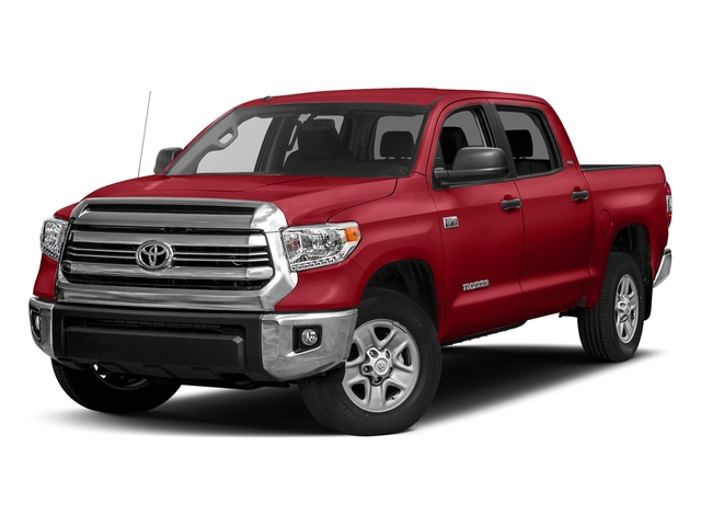 Barcelona Red Metallic 2017 Toyota Tundra 4WD Pictures Tundra 4WD SR5 CrewMax 4WD photos front view