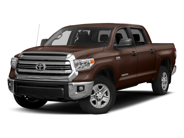 Sunset Bronze Mica 2017 Toyota Tundra 4WD Pictures Tundra 4WD SR5 CrewMax 4WD photos front view