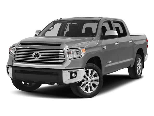 Silver Sky Metallic 2017 Toyota Tundra 4WD Pictures Tundra 4WD Limited CrewMax 4WD photos front view