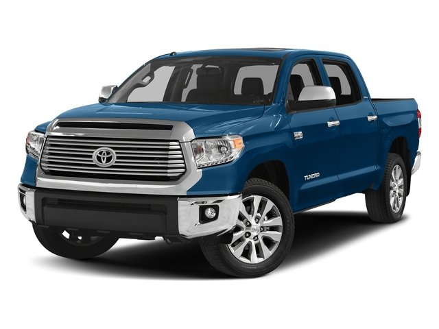 Blazing Blue Pearl 2017 Toyota Tundra 4WD Pictures Tundra 4WD Limited CrewMax 4WD photos front view