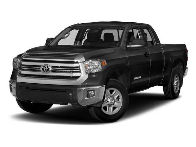 Black 2017 Toyota Tundra 2WD Pictures Tundra 2WD SR5 Double Cab 2WD photos front view