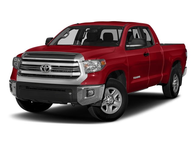 Barcelona Red Metallic 2017 Toyota Tundra 2WD Pictures Tundra 2WD SR5 Double Cab 2WD photos front view