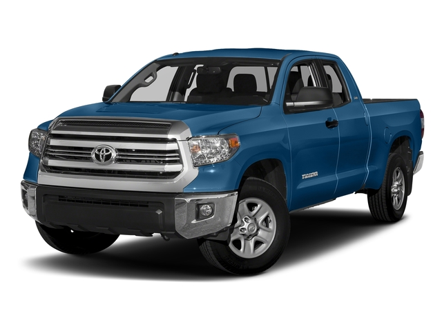 Blazing Blue Pearl 2017 Toyota Tundra 2WD Pictures Tundra 2WD SR5 Double Cab 2WD photos front view