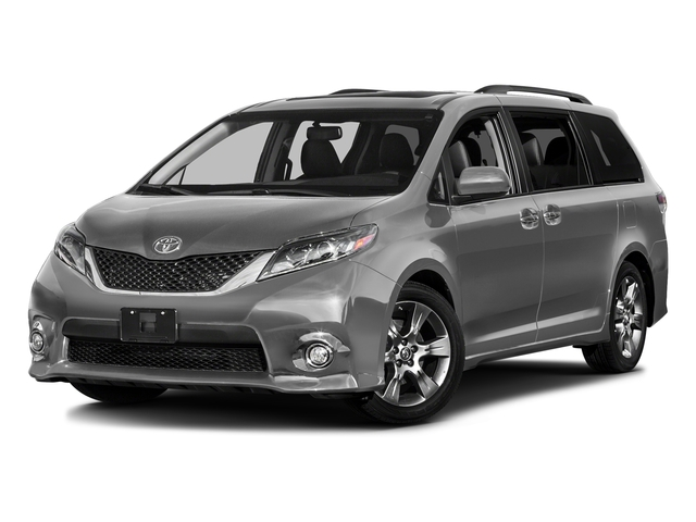 Silver Sky Metallic 2017 Toyota Sienna Pictures Se Premium Fwd 8 Penger Photos Front