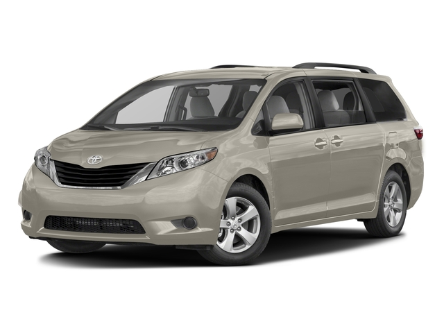 Creme Brulee Mica 2017 Toyota Sienna Pictures Sienna Wagon 5D LE AWD V6 photos front view