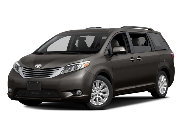 Predawn Gray Mica 2017 Toyota Sienna Pictures Sienna Wagon 5D XLE V6 photos front view