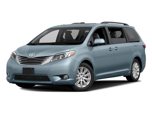 Sky Blue Pearl 2017 Toyota Sienna Pictures Sienna Wagon 5D XLE V6 photos front view