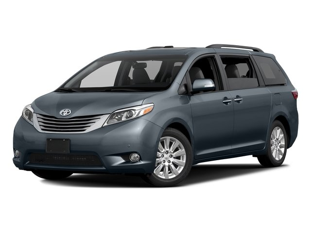Shoreline Blue Pearl 2017 Toyota Sienna Pictures Sienna Wagon 5D XLE V6 photos front view