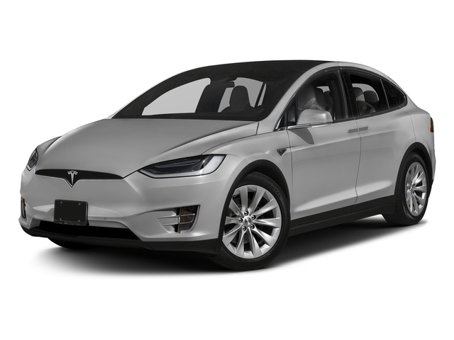 Silver Metallic 2017 Tesla Motors Model X Pictures Model X Utility 4D 100 kWh AWD Electric photos front view