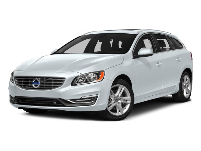 Ice White 2017 Volvo V60 Pictures V60 Wagon 4D T5 Platinum AWD Turbo photos front view