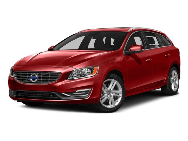 Flamenco Red Metallic 2017 Volvo V60 Pictures V60 Wagon 4D T5 Platinum AWD Turbo photos front view