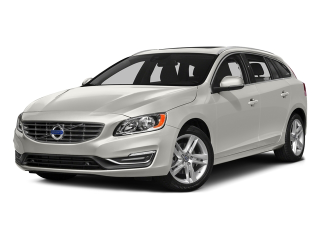 Crystal White Pearl 2017 Volvo V60 Pictures V60 Wagon 4D T5 Platinum AWD Turbo photos front view