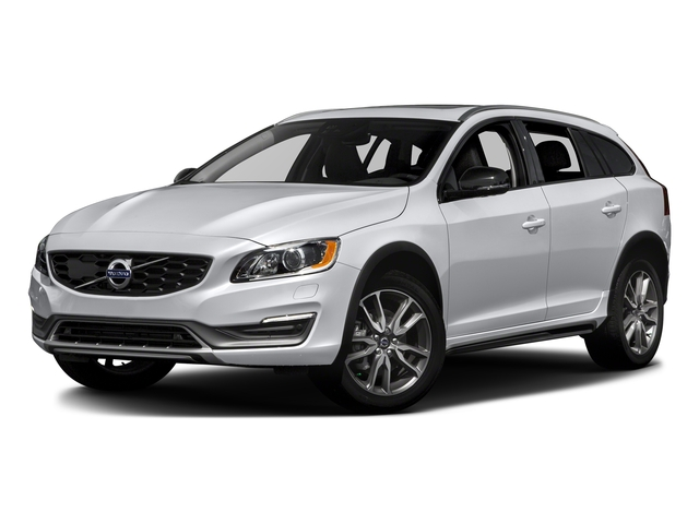 Ice White 2017 Volvo V60 Cross Country Pictures V60 Cross Country Wagon 5D T5 Platinum AWD I4 Turbo photos front view