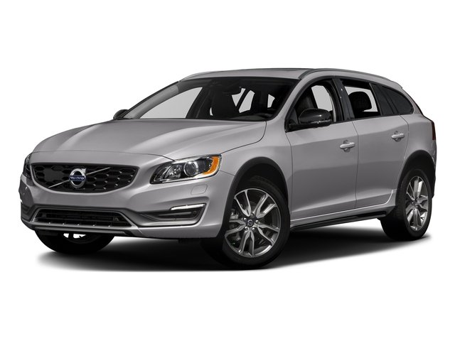 Bright Silver Metallic 2017 Volvo V60 Cross Country Pictures V60 Cross Country Wagon 5D T5 Platinum AWD I4 Turbo photos front view