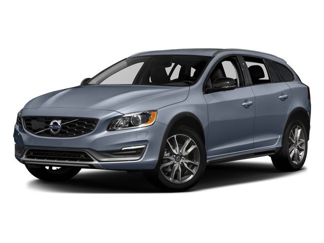 Mussel Blue Metallic 2017 Volvo V60 Cross Country Pictures V60 Cross Country Wagon 5D T5 Platinum AWD I4 Turbo photos front view