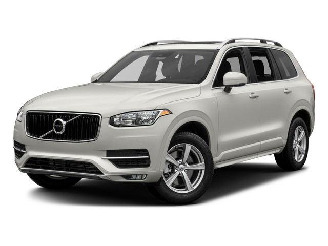 Crystal White Pearl Metallic 2017 Volvo XC90 Pictures XC90 Util 4D T5 Momentum AWD I4 Turbo photos front view