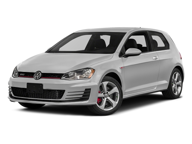 Pure White 2017 Volkswagen Golf GTI Pictures Golf GTI 2.0T 2-Door S Manual photos front view