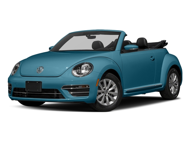 Silk Blue Metallic/Black Roof 2017 Volkswagen Beetle Convertible Pictures Beetle Convertible 1.8T Classic Auto photos front view