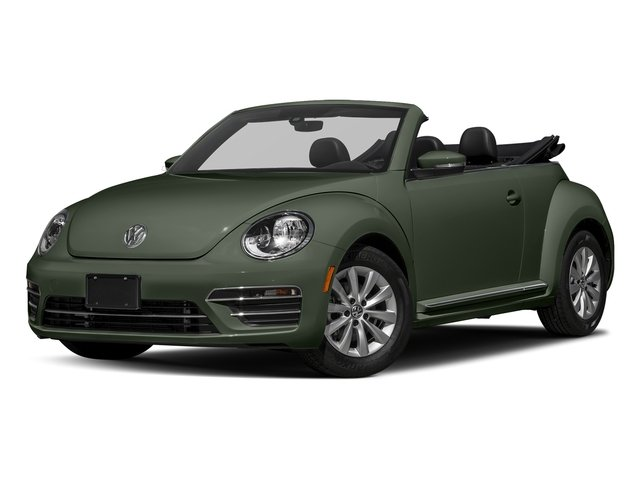 Bottle Green Metallic/Black Roof 2017 Volkswagen Beetle Convertible Pictures Beetle Convertible 1.8T Classic Auto photos front view