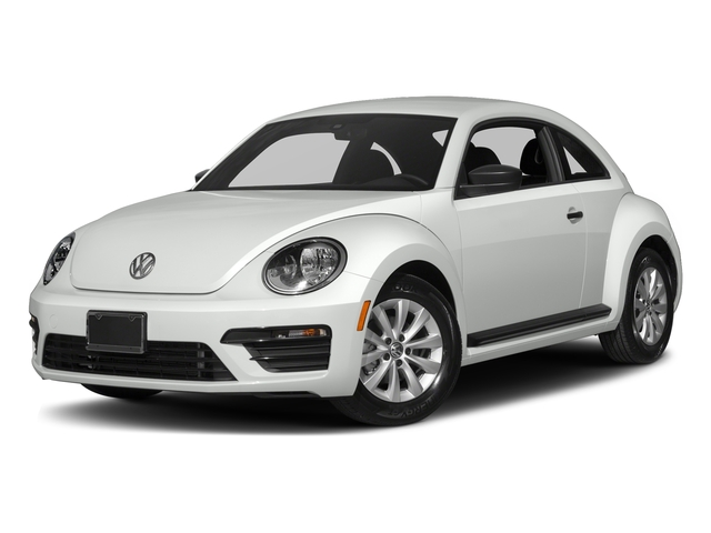 Pure White 2017 Volkswagen Beetle Pictures Beetle 1.8T SE Auto photos front view