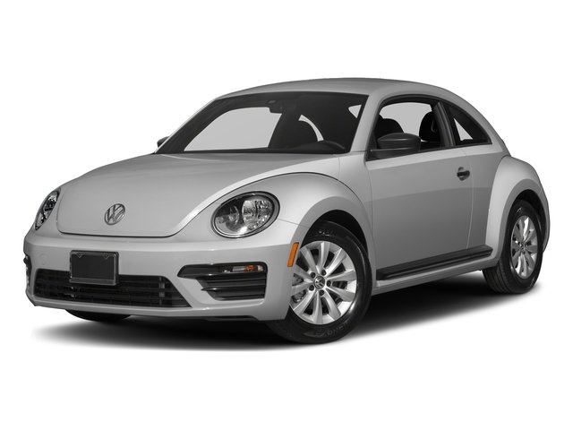 White Silver Metallic 2017 Volkswagen Beetle Pictures Beetle 1.8T SE Auto photos front view
