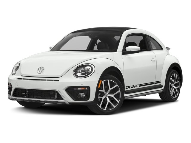 Pure White 2017 Volkswagen Beetle Pictures Beetle 1.8T Dune Auto photos front view
