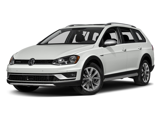 Pure White 2017 Volkswagen Golf Alltrack Pictures Golf Alltrack 1.8T SE Manual photos front view