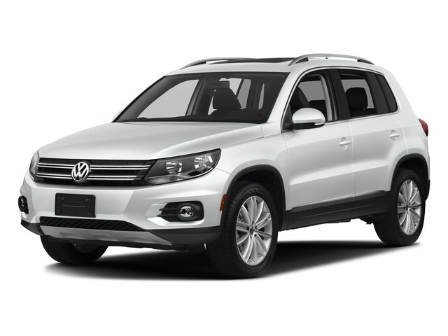 Pure White 2017 Volkswagen Tiguan Limited Pictures Tiguan Limited 2.0T FWD photos front view