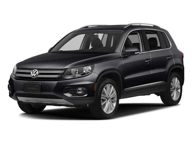 Deep Black Pearl Metallic 2017 Volkswagen Tiguan Limited Pictures Tiguan Limited 2.0T FWD photos front view
