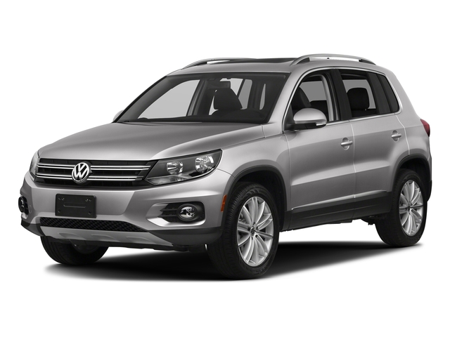 Reflex Silver Metallic 2017 Volkswagen Tiguan Limited Pictures Tiguan Limited 2.0T FWD photos front view