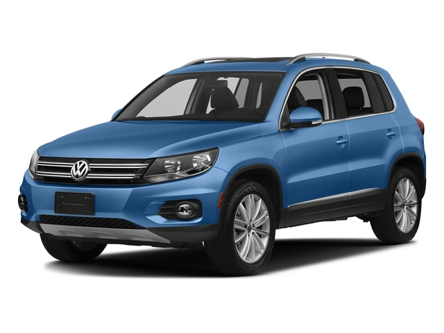 Pacific Blue Metallic 2017 Volkswagen Tiguan Limited Pictures Tiguan Limited 2.0T FWD photos front view
