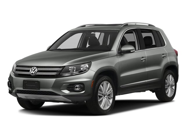 Pepper Gray Metallic 2017 Volkswagen Tiguan Limited Pictures Tiguan Limited 2.0T FWD photos front view
