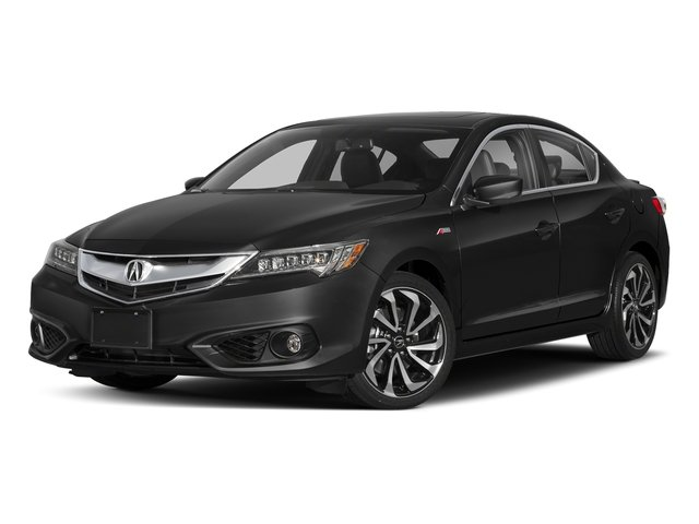 Crystal Black Pearl 2018 Acura ILX Pictures ILX Sedan 4D Premium A-SPEC photos front view