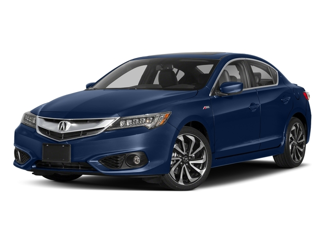 Catalina Blue Pearl 2018 Acura ILX Pictures ILX Sedan 4D Premium A-SPEC photos front view
