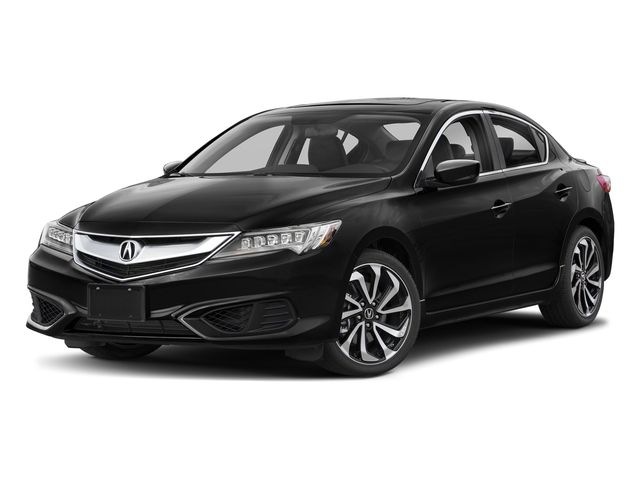 Crystal Black Pearl 2018 Acura ILX Pictures ILX Special Edition Sedan photos front view